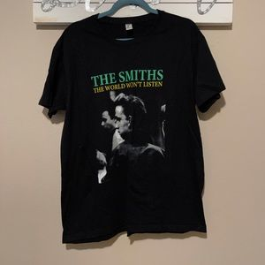 The Smiths - The World Won't Listen T-shirt